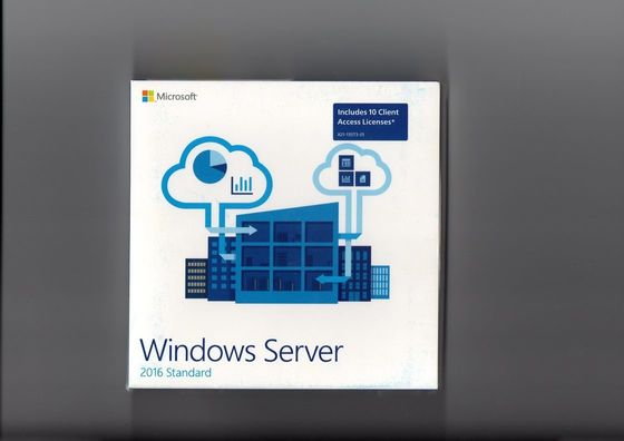 Chiny Global Area Activation Windows Server 2016 Standard 64bit OEM 16 CORE dystrybutor